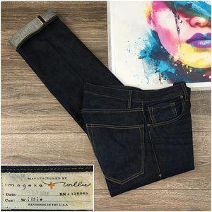 Imogene Willie Mens Selvedge Straight Denim Jeans